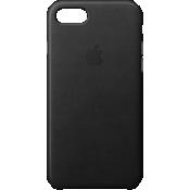 iPhone 8/7 Leather Case - Black