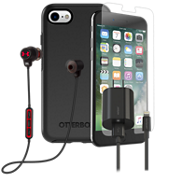 OtterBox Symmetry, Protection, Charge & Headphone Bundle for iPhone 8