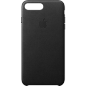 iPhone 8 Plus/7 Plus Leather Case - Black