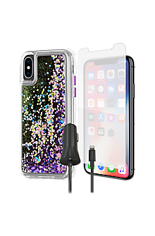 timeless design f4a0e 80153 Case-Mate Waterfall Case, Protection & Charging Bundle for iPhone XS/X