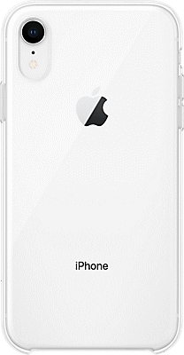 new styles fee80 11a46 Clear Case for iPhone XR