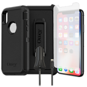 Otterbox Defender Case, Protection & Charging Bundle for iPhone XS/X