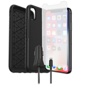 Otterbox Symmetry Case, Protection & Charging Bundle for iPhone XS/X