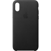 Leather Case for iPhone X - Black