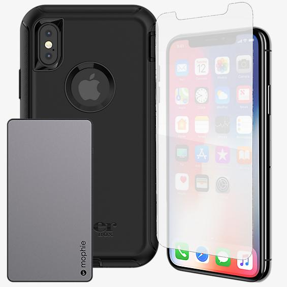 OtterBox Defender Power & Protection Bundle for iPhone X