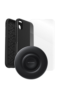 huge selection of 0c821 7320f OtterBox Symmetry Case, Protection and Wireless Charging Bundle for iPhone  XR