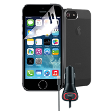 Travel Bundle for Apple iPhone SE- Black