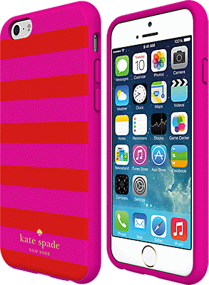 best service cd732 7fc93 Flexible Hardshell Case for iPhone 6 Plus/6s Plus - Candy Stripe