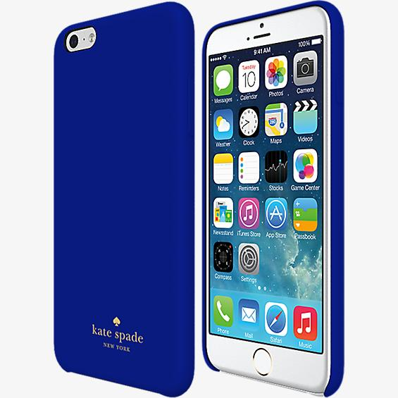 Wrapped Case for iPhone 6 Plus/6s Plus - Emperor Blue Leather