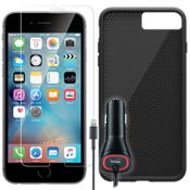 Textured Protection Bundle for iPhone 7 Plus - Black