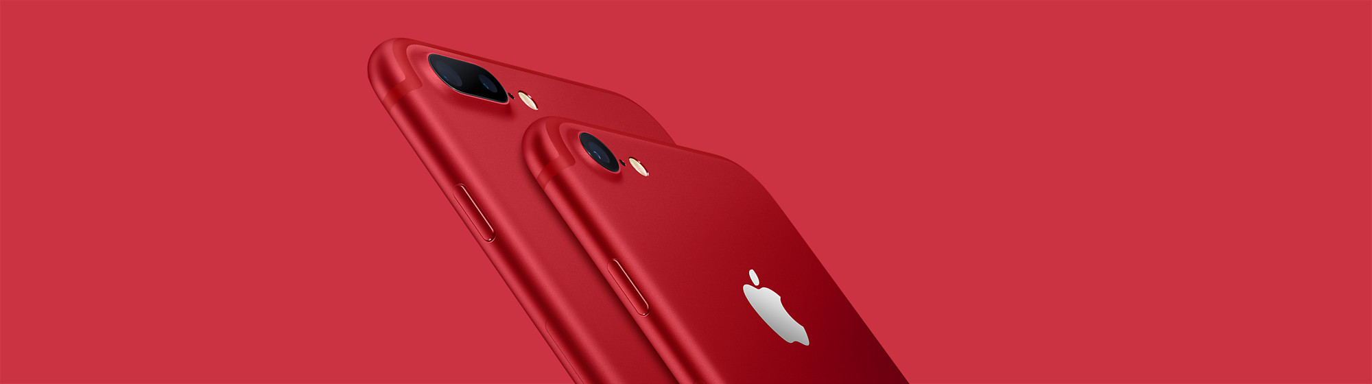 iPhone 7 in red
