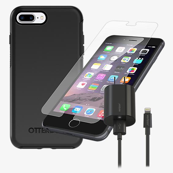 OtterBox Symmetry Case Bundle for iPhone 8 Plus/7 Plus/6s Plus/6 Plus - Black