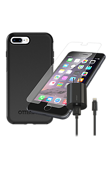 pretty nice 62926 b04be OtterBox Symmetry Case Bundle for iPhone 8 Plus/7 Plus/6s Plus/6 Plus -  Black