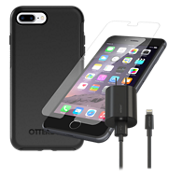 OtterBox Symmetry Case Bundle for iPhone 8 Plus/7 Plus/6s Plus/6 Plus - Black