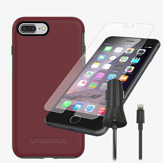 OtterBox Symmetry Case Bundle for iPhone 8 Plus/7 Plus/6s Plus/6 Plus - Fine Port