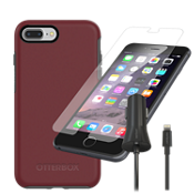OtterBox Symmetry Case Bundle for iPhone 8 Plus/7 Plus/6s Plus/6 Plus - Fine Port