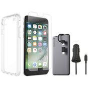 Presidio Clear Protect and Charge Bundle for iPhone 8