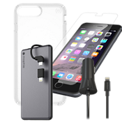 Presidio Clear Protect and Charge Bundle for iPhone 8 Plus
