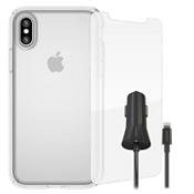 Speck Presidio Clear Bundle for iPhone X