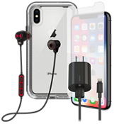 LifeProof Next, Protection, Charge & Headphone Bundle for iPhone X