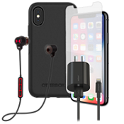 OtterBox Symmetry, Protection, Charge & Headphone Bundle for iPhone X