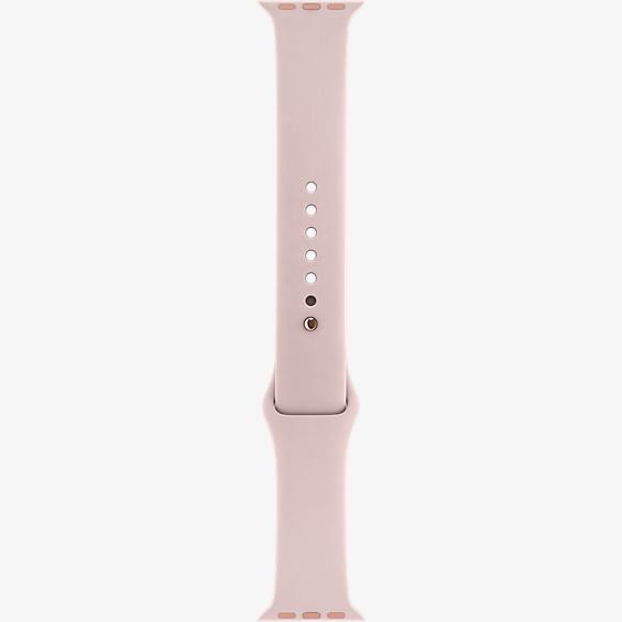 38mm Pink Sand Sport Band - S/M - M/
