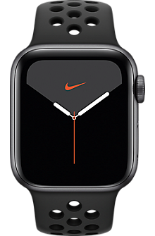Apple® Watch Series 5 Space Gray Aluminum 40mm Case with Nike Sport Band