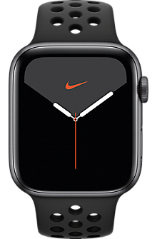 Apple® Watch Series 5 Space Gray Aluminum 44mm Case with Nike Sport Band