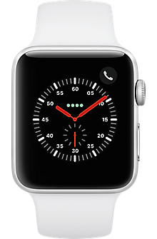 new concept 39be1 f0230 Apple® Watch Series 3 Aluminum 42mm Case - Sport Band