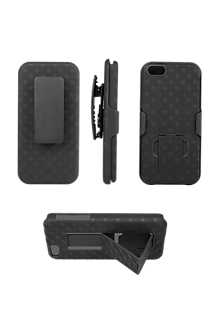 best service 69dfa ce9a5 Shell Holster Combo with Kickstand for iPhone® 5/5s/SE