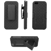 Shell Holster Combo with Kickstand for iPhone® 5/5s/SE