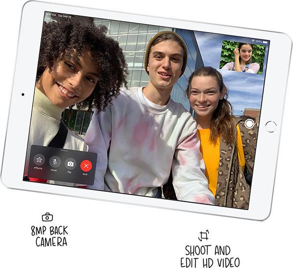 iPad 10.2-inch Built-in cameras