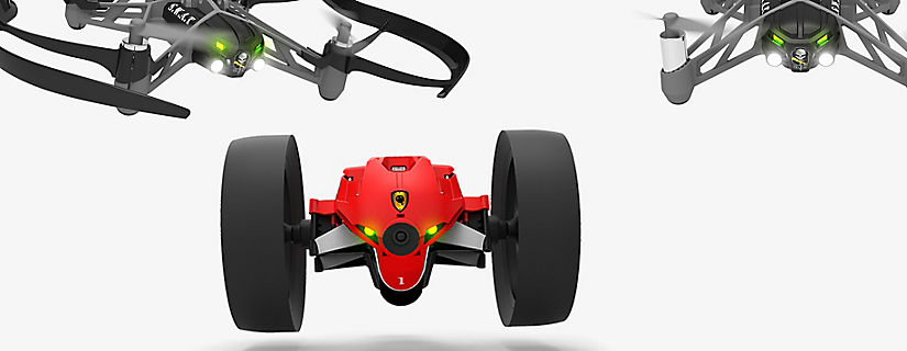 Get Ready for Adventure with the Parrot MiniDrones
