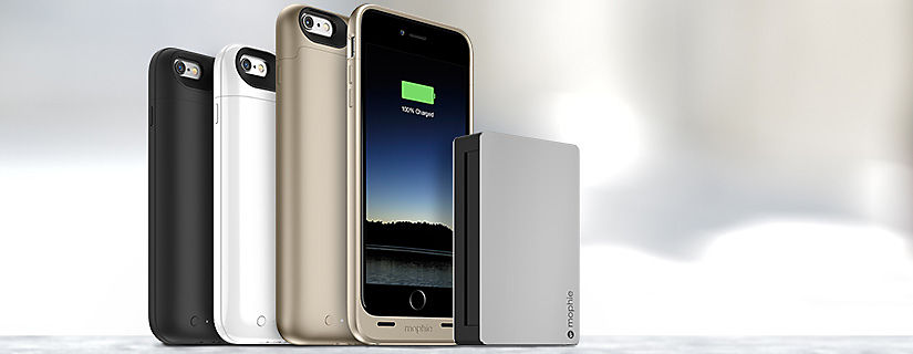 When your iPhone needs a boost, mophie has you covered