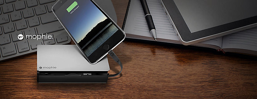 Spotlight on the mophie powerstation® plus 3x