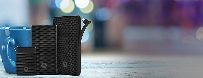 Stay Charged on the Go With a Motorola Power Pack