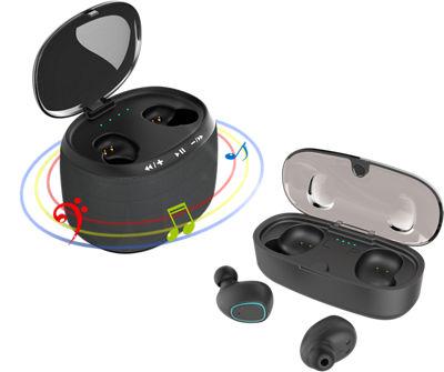 Baraka True Wireless Earbuds and Speaker Black