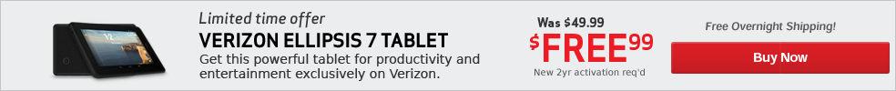 $80 off LG G Pad Tablet