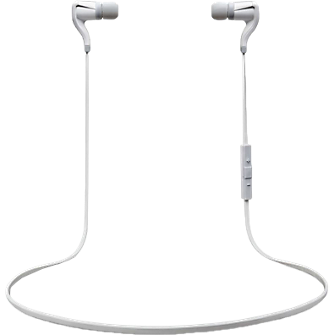Plantronics BackBeat GO 2 Wireless Earbuds + Charging Case - White