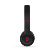 Beats Solo3 Wireless On-Ear Headphones - The Beats Decade Collection - Defiant Black-Red.
