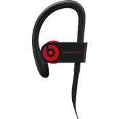 Powerbeats3 Wireless Earphones - The Beats Decade Collection - Defiant Black-Red.