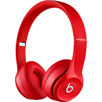 Beats Solo 2 Wireless Headphone - Red