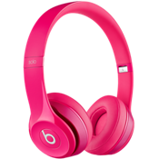 Beats Solo 2 On-Ear Headphone - Pink
