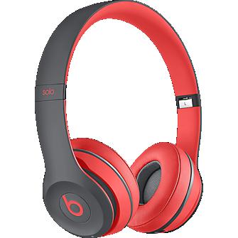 Solo2 Wireless On-Ear Headphone - Siren Red