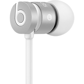 urBeats In-Ear Headphones - Special Edition Silver