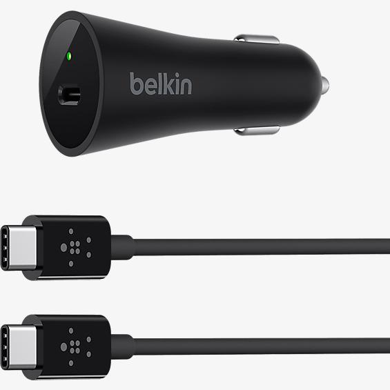 USB-C Car Charger with USB-C Cable