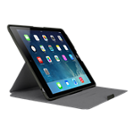 Belkin Form Fit Folio for iPad Air - Black with Gray