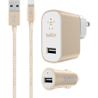 belkin iphone charger belkin mixit up car plus home lightning charger kit 5240