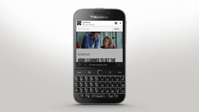 BlackBerry® Classic - BBM Now In Any App