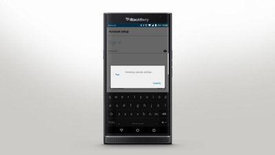 blackberry outlook address book sync